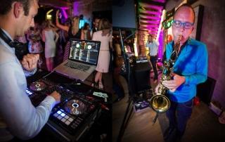 sakso live sax dj huwelijk