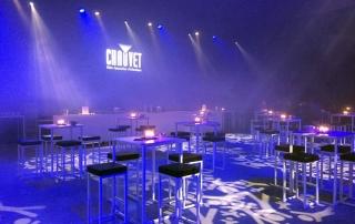 dj voor bedrijfsfeest Chauvet lighting