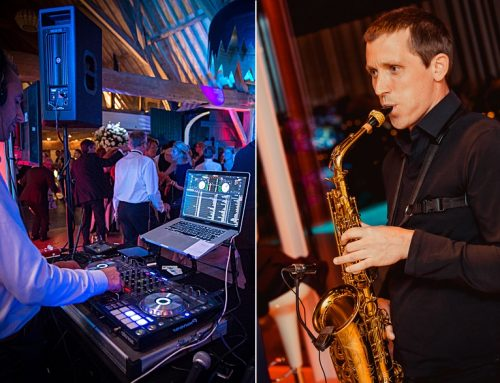 DJ vs Saxofonist = PARTY!